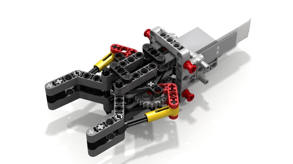 lego ev3 gripper instructions