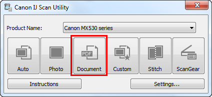 Canon mg6360 scan multiple pages into 1 pdf