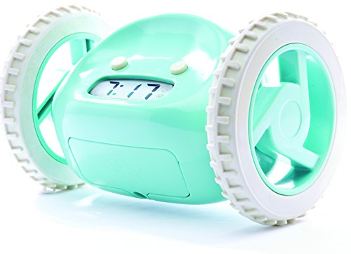 clocky alarm clock on wheels instructions