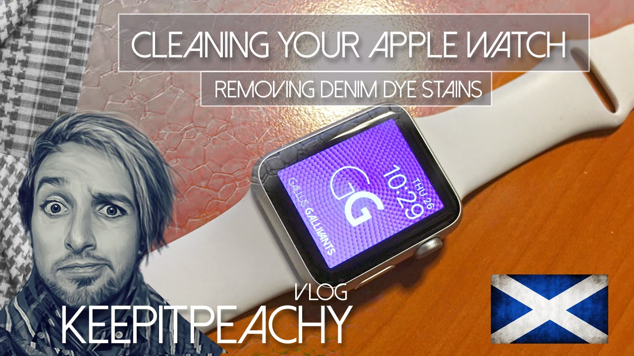 how to clean white mi band
