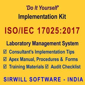 Iso 17025 2017 quality manual template free pdf
