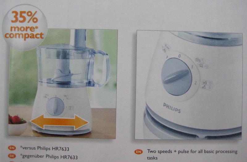 Philips cucina food processor manual