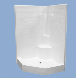 Neo angle shower installation instructions