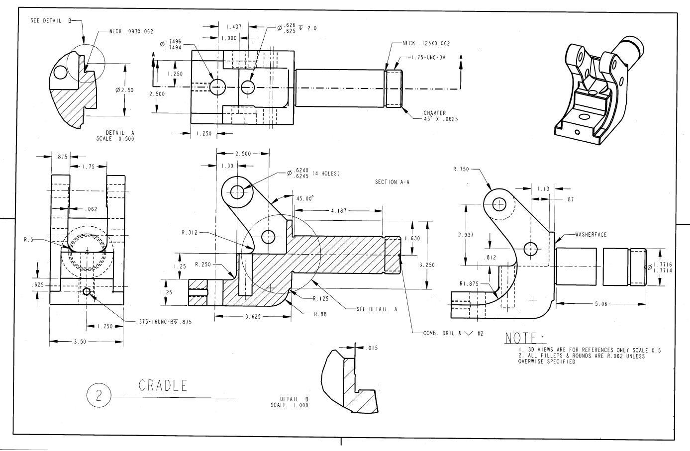 2d drawings for catia practice pdf