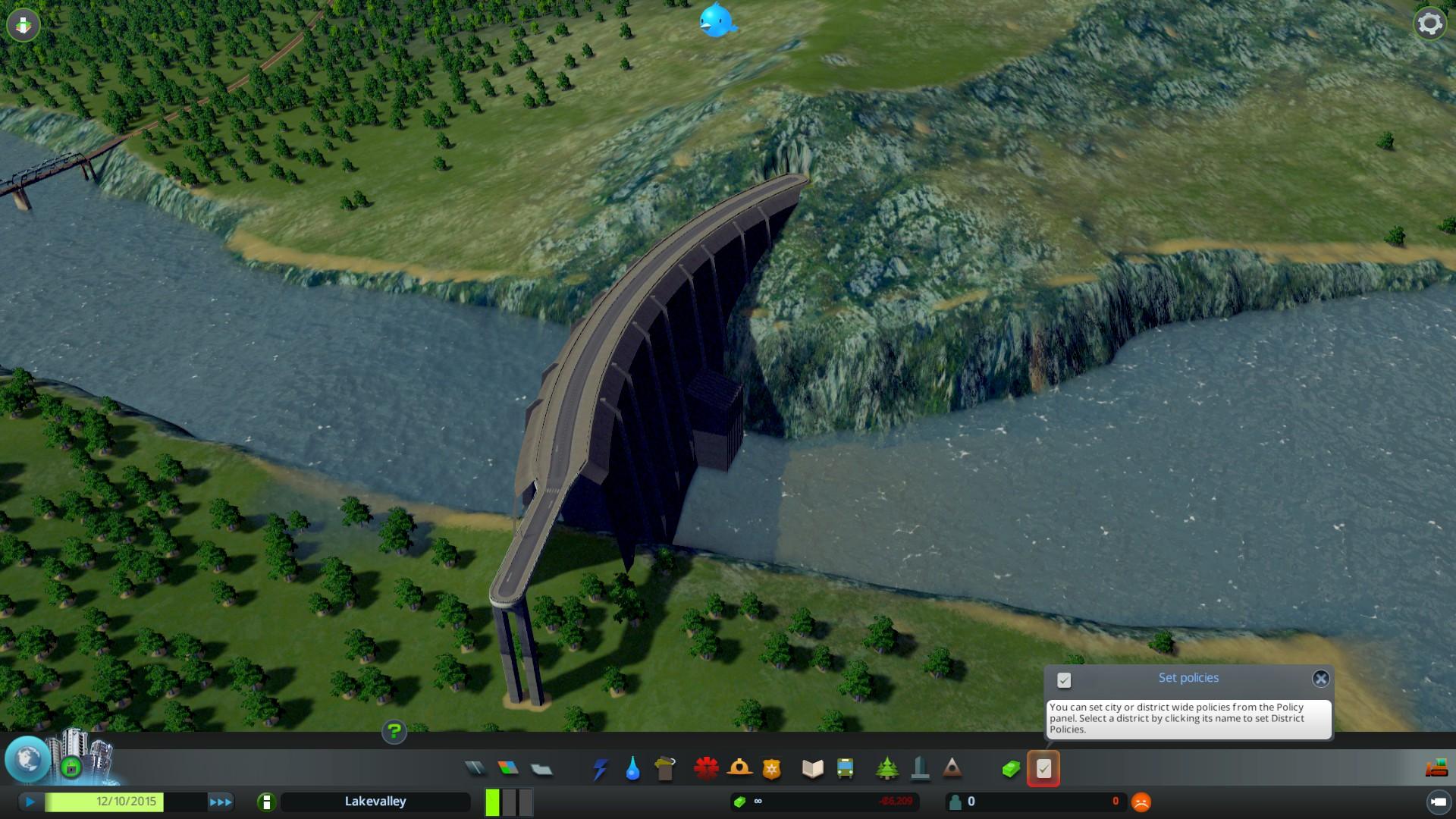 Cities skyline how to build dam