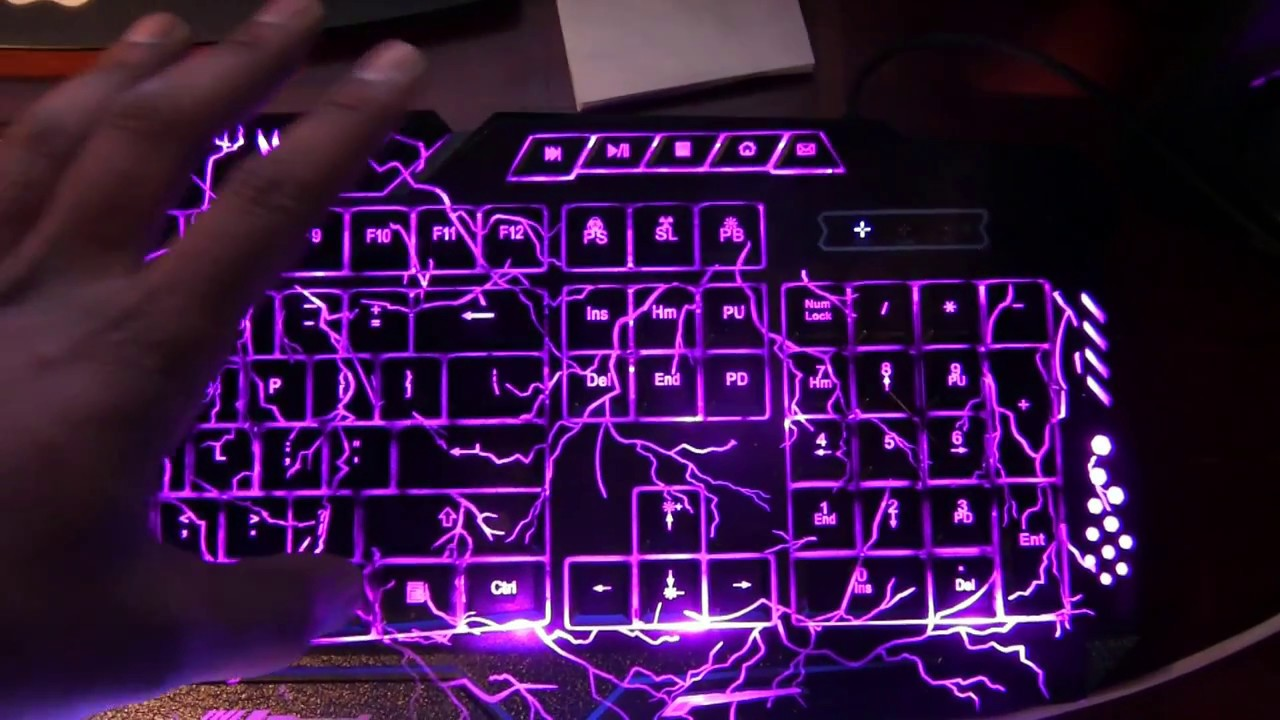 Cyberpower keyboard how to change color