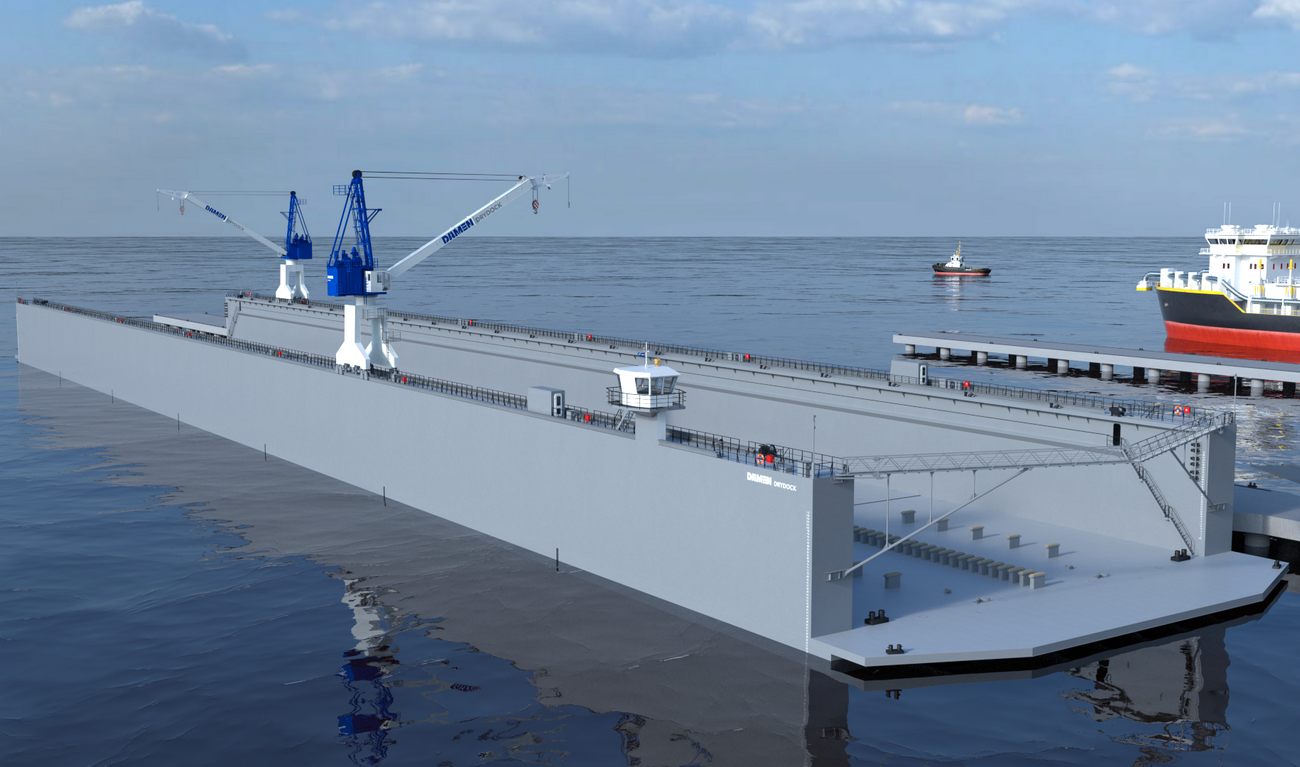 Floating dry dock design pdf