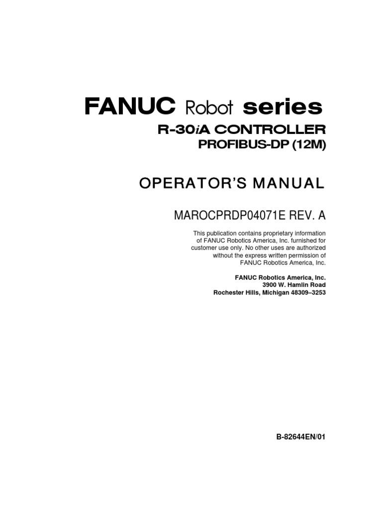 fanuc robotics training manual pdf