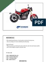 Hyosung gt650 workshop manual free