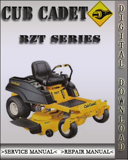 Cub cadet zero turn manual