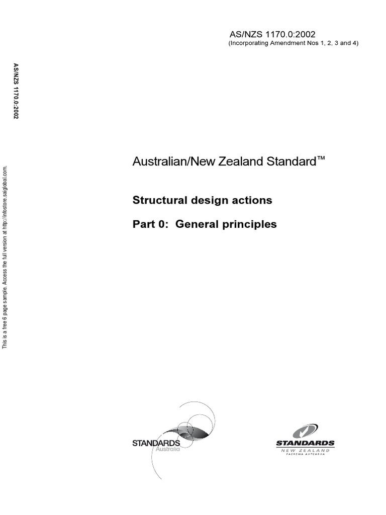 As nzs 1170.1 pdf free download