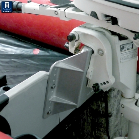 manual jack plate for small outboards