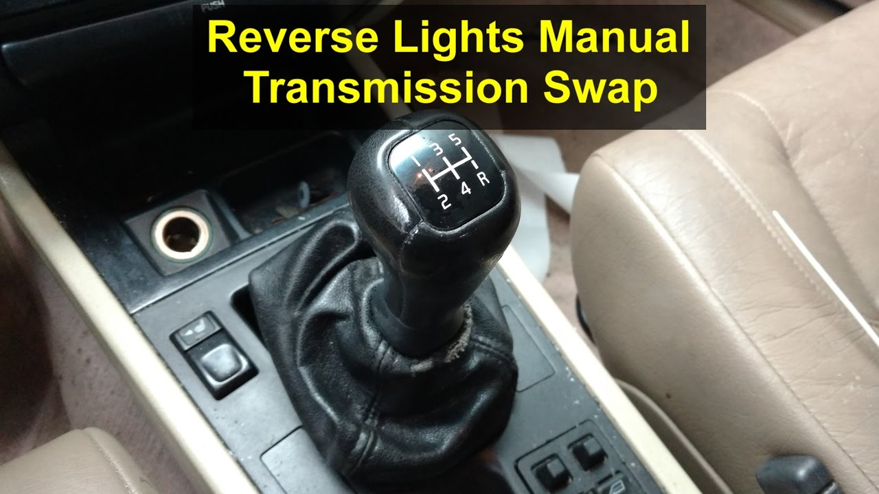 r31 manual conversion reverse light