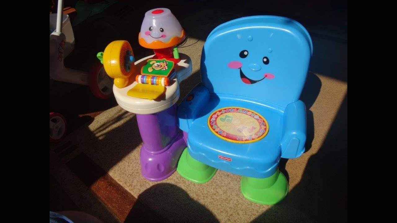fisher price laugh and learn musical chair instructions
