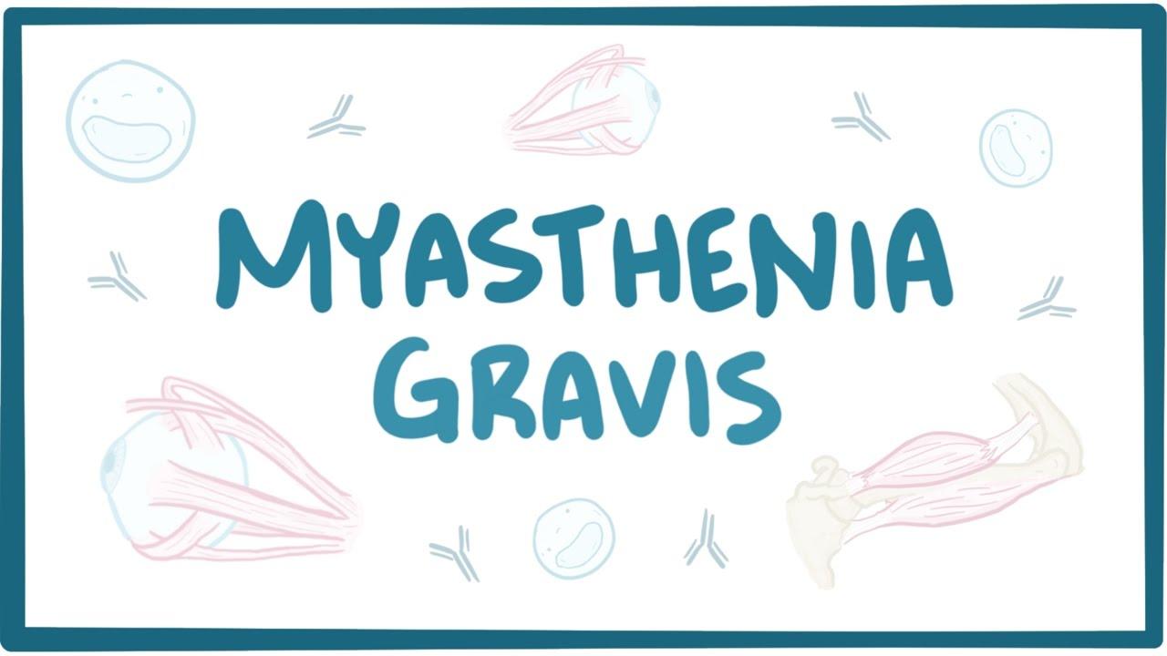 Pathophysiology of myasthenia gravis pdf