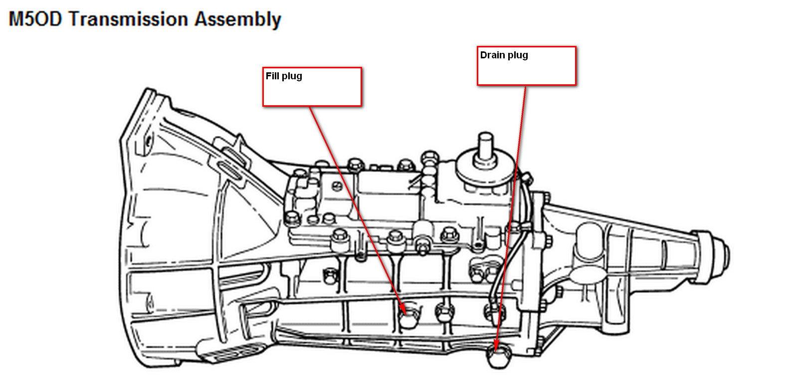 1998 ford ranger manual transmission fluid