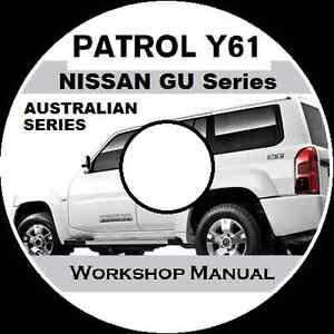 nissan patrol owners manual pdf