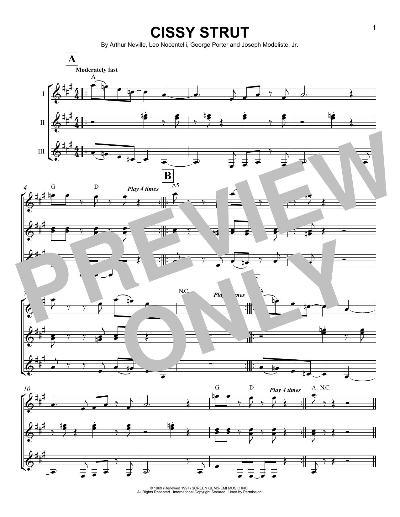 Cissy strut guitar tab pdf