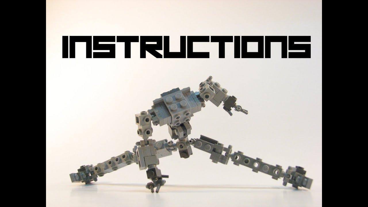 lego mech instructions pdf