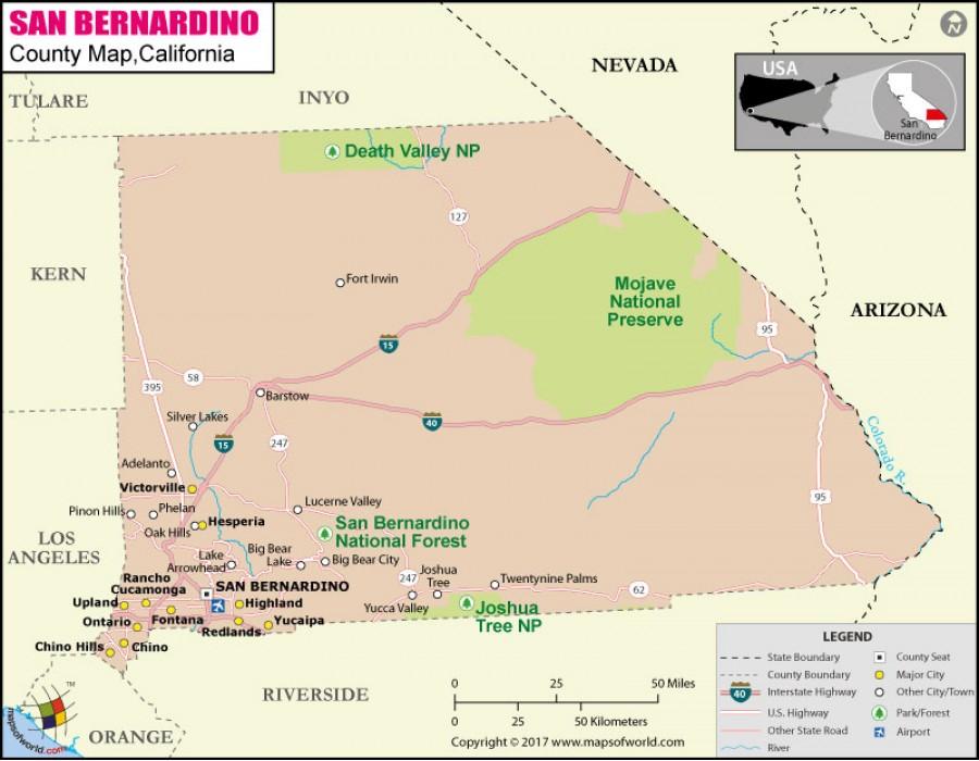 San bernardino county map pdf