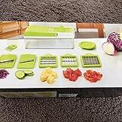 cookworks 13 piece super slicer manual