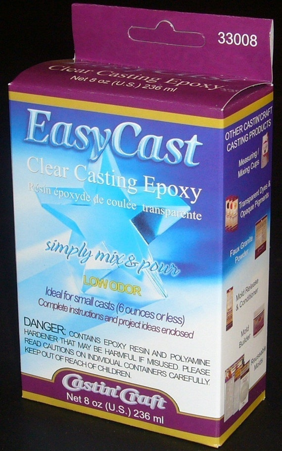 easycast clear casting epoxy resin instructions