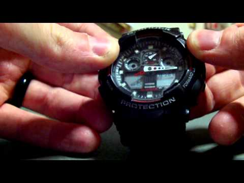 casio g shock 5081 owners manual