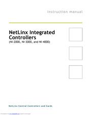 amx netlinx ni-3100 manual