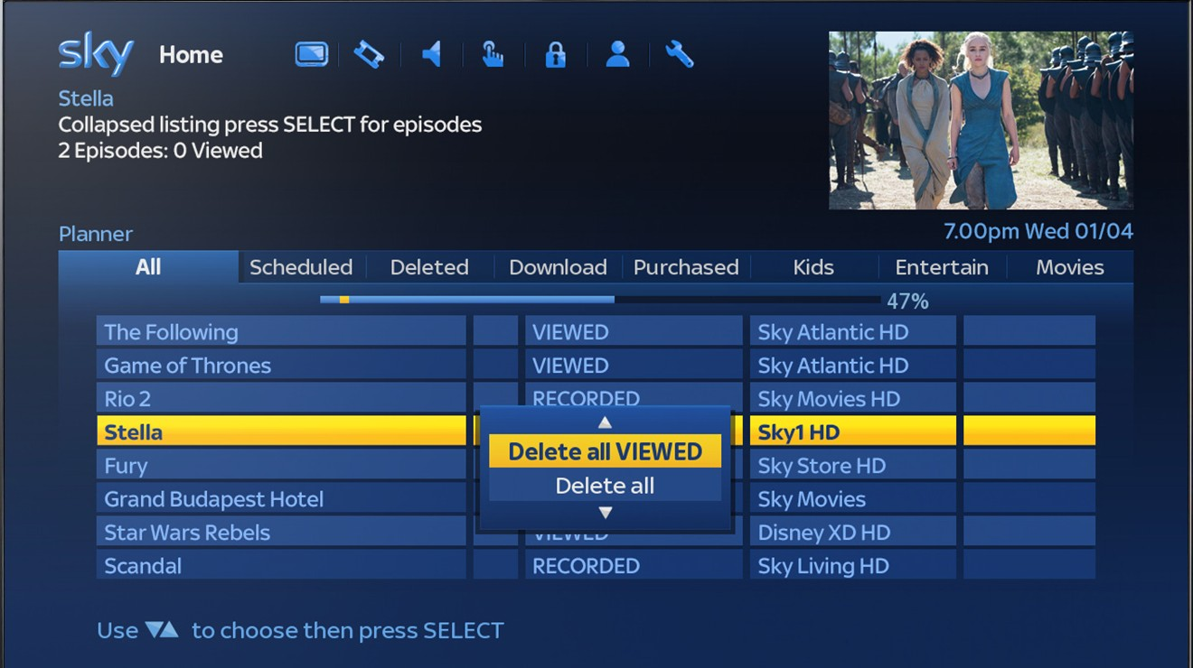 Sky tv movie guide nz