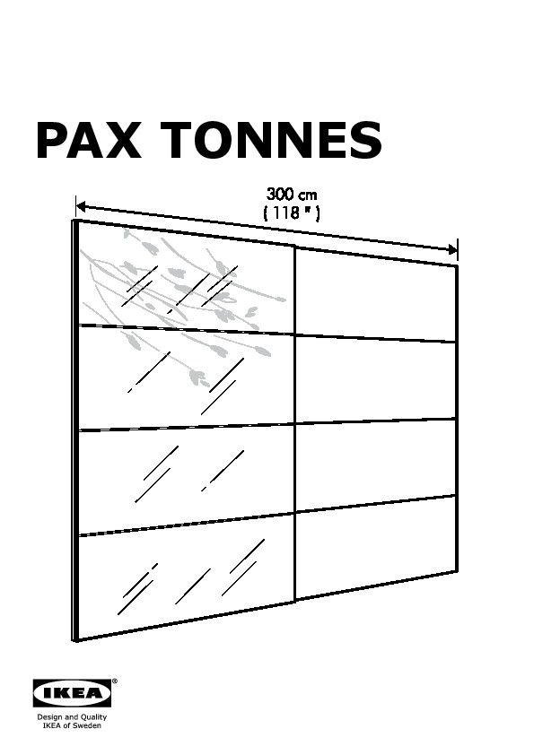 ikea pax tonnes instructions