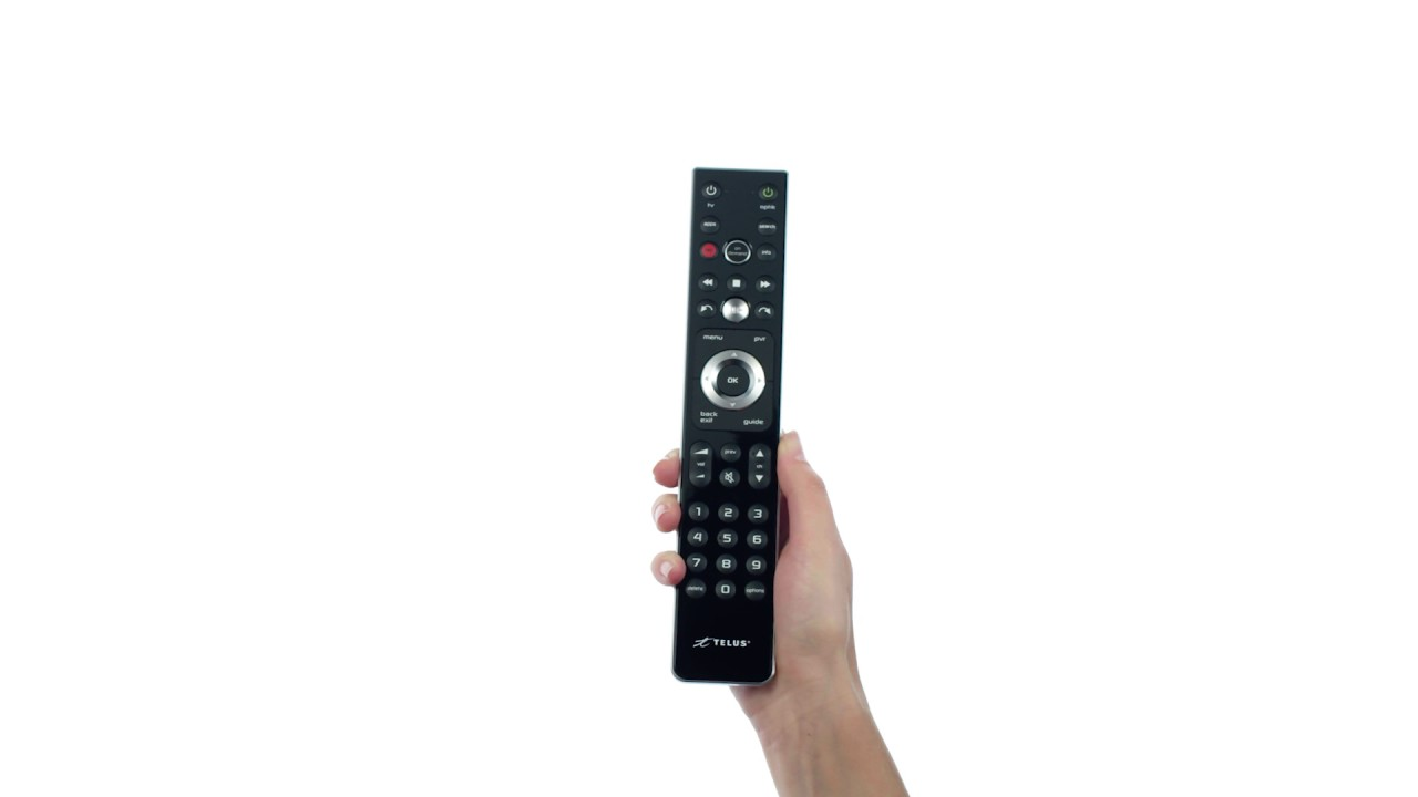 Bell fibe tv remote control manual