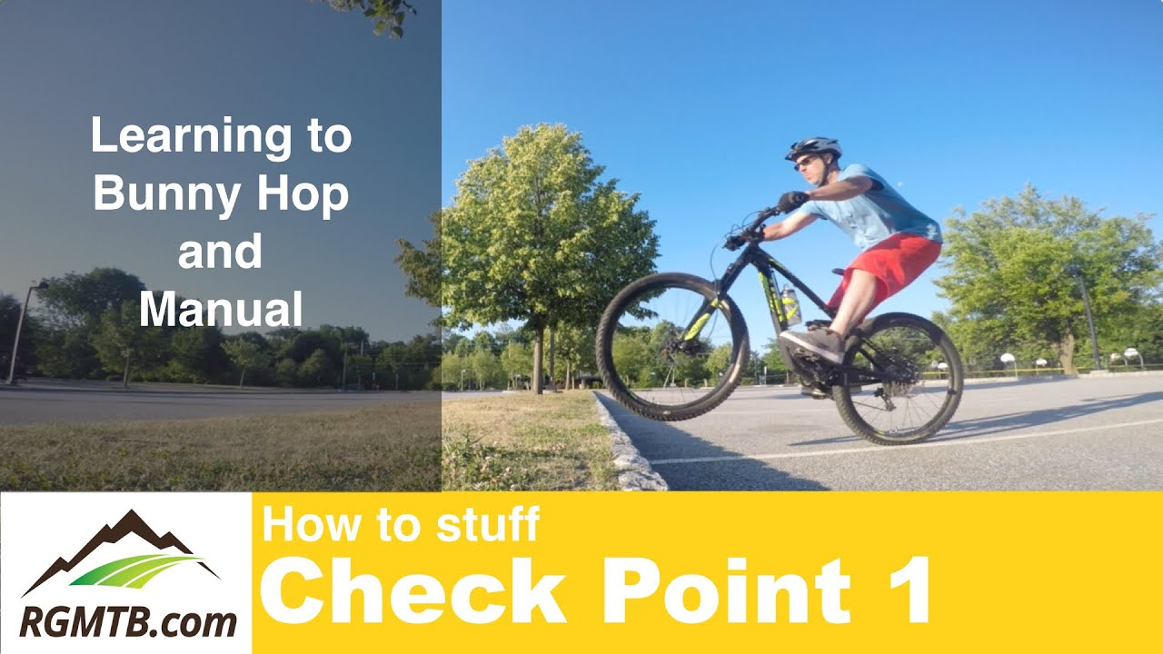 transition manual to bunny hop