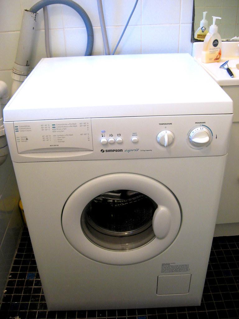 simpson esprit washing machine manual