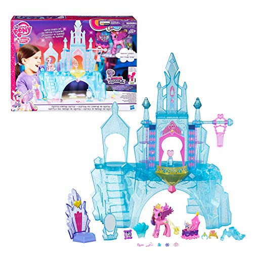 my little pony crystal empire castle instructions