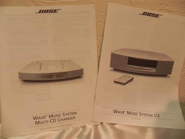 bose wave music system multi cd changer manual