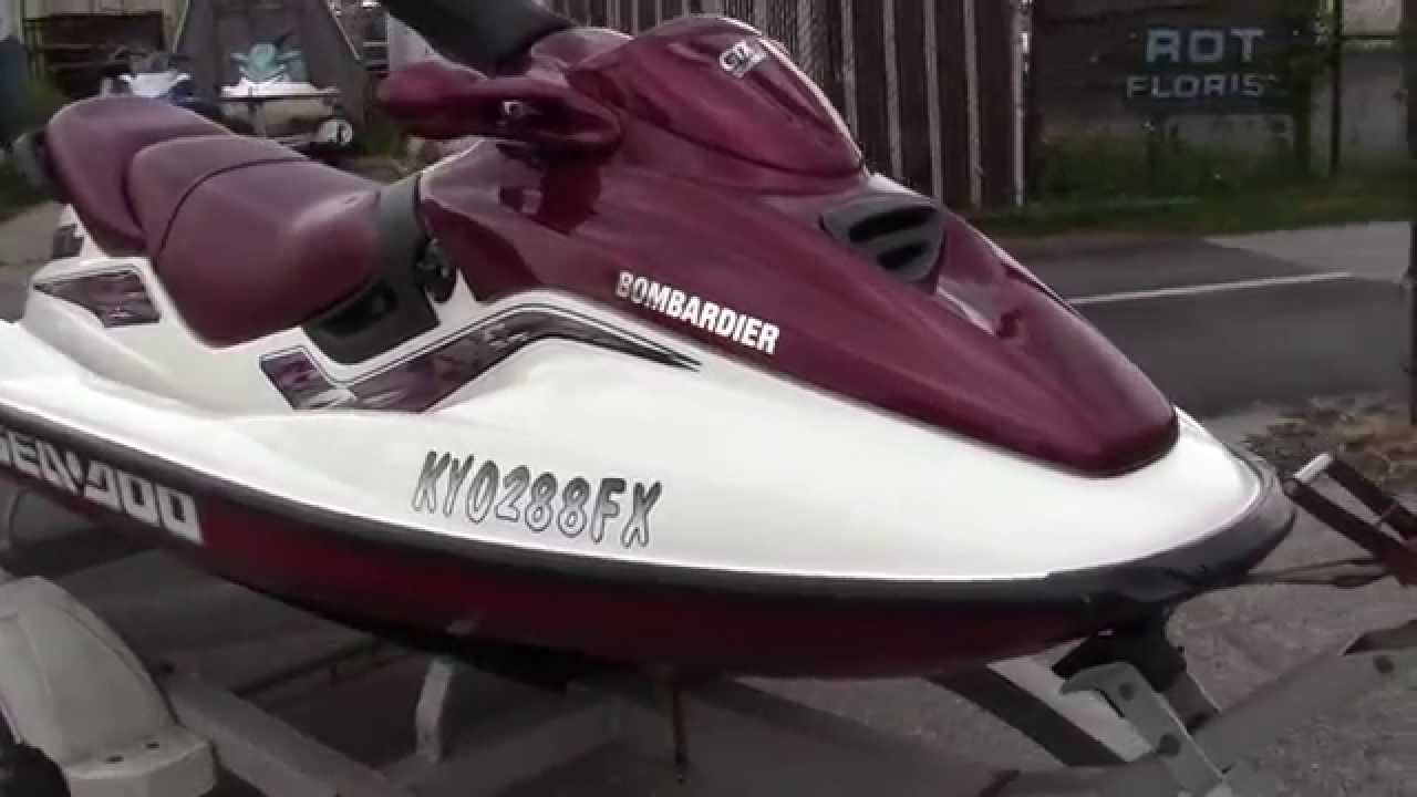 1999 seadoo gtx limited manual