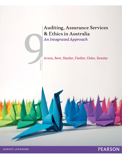 Auditing assurance services and ethics in australia pdf