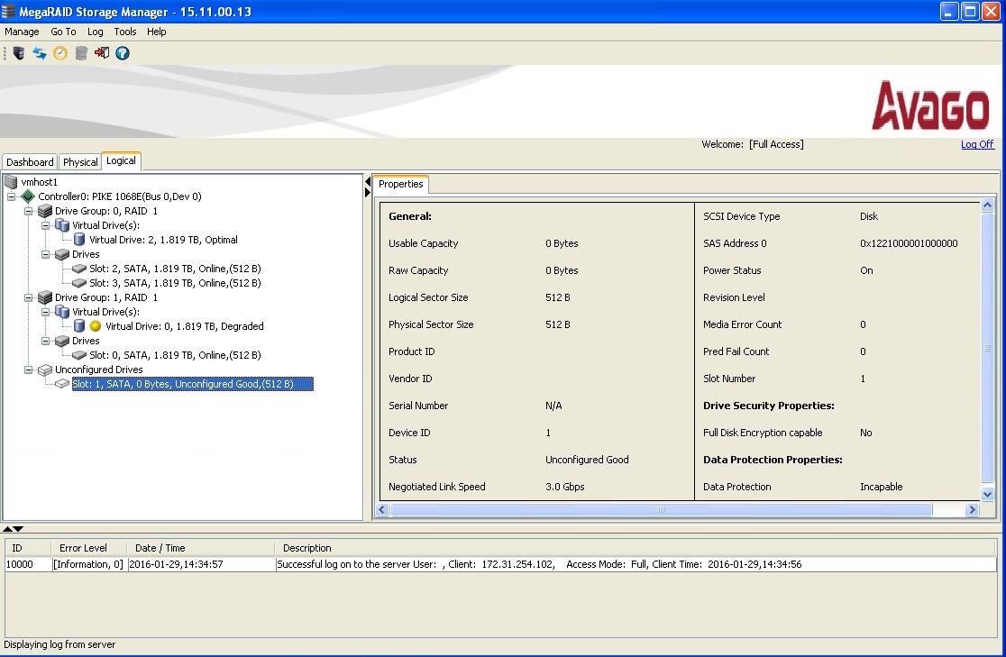 Avago megaraid storage manager manual