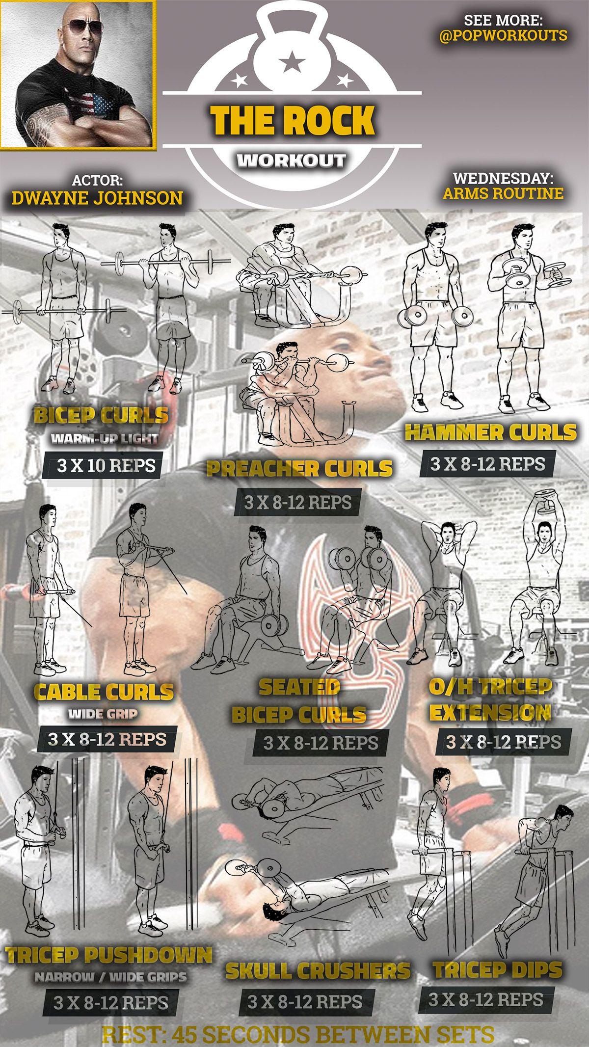 The rock workout routine pdf