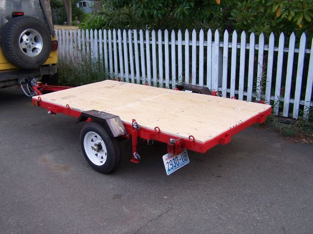 harbor freight folding trailer assembly instructions