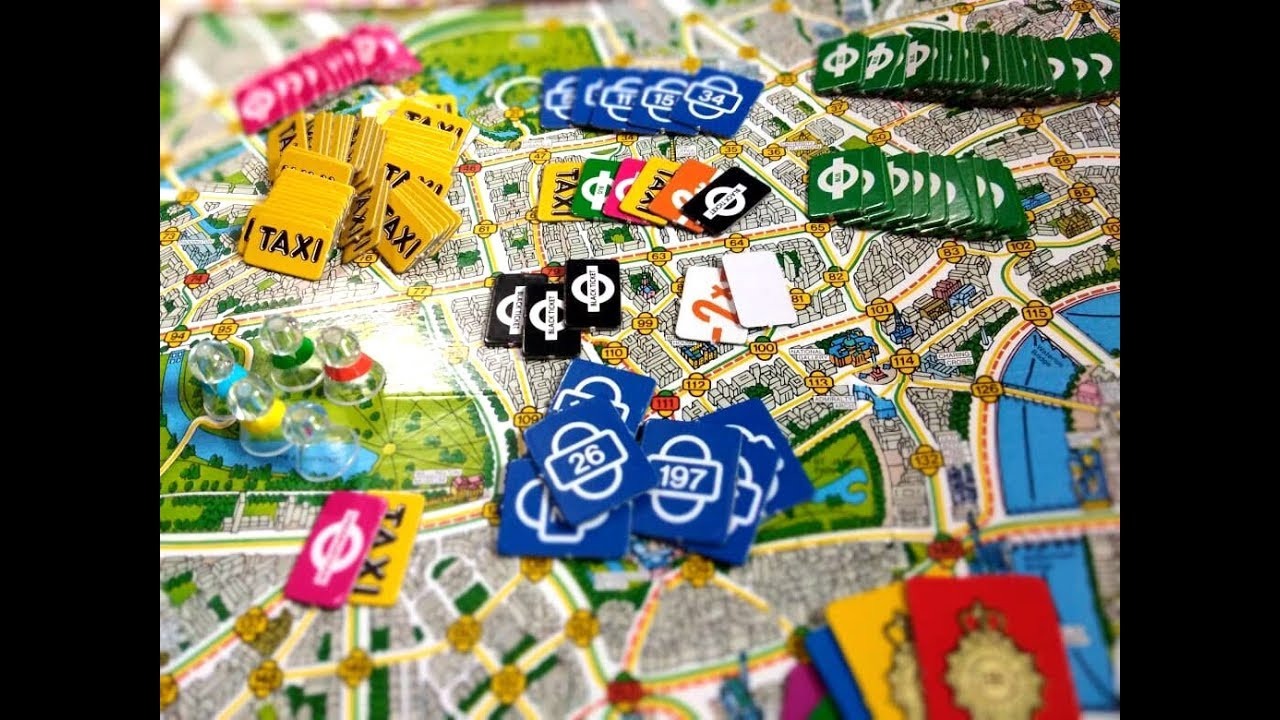 scotland yard board game instructions