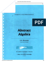 Dummit and foote abstract algebra solutions pdf