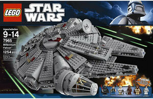 millennium falcon lego instructions 7965