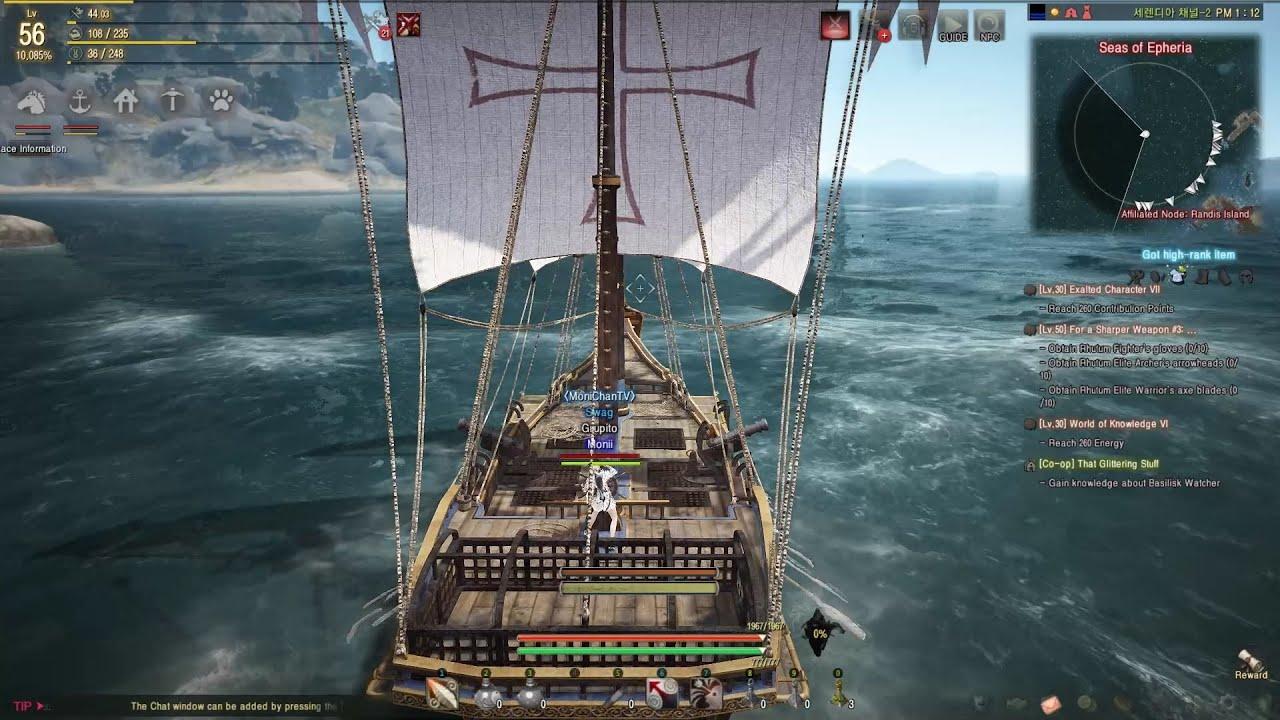 Bdo how to build epheria sailboat