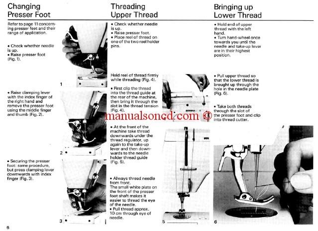 Bernina 801 sewing machine manual