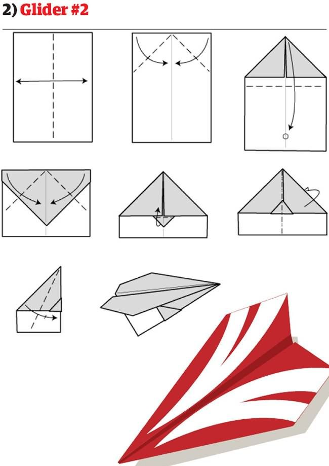 best paper airplane ever instructions