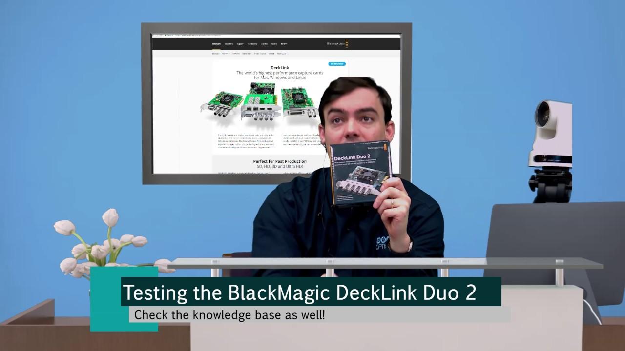 Blackmagic decklink duo 2 manual