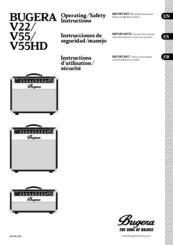 bugera amplifier 6262 operation manual