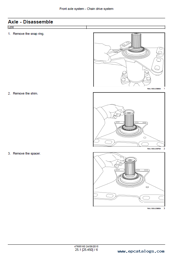 new holland l230 service manual