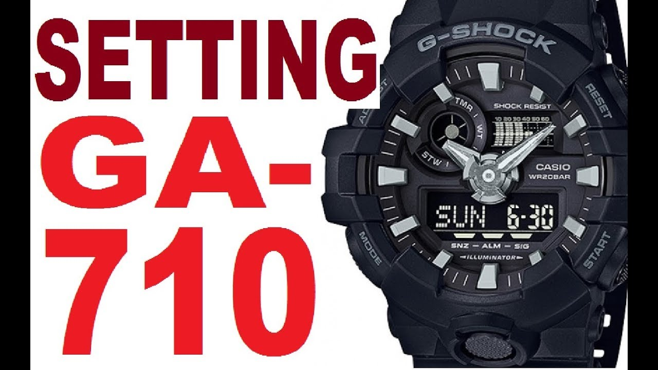 Casio g shock 2737 manual